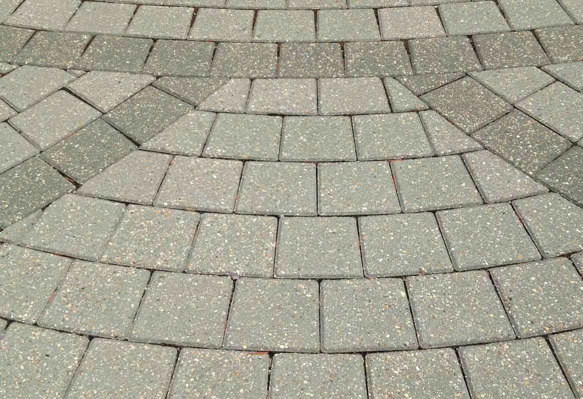 Moss Green Pavers